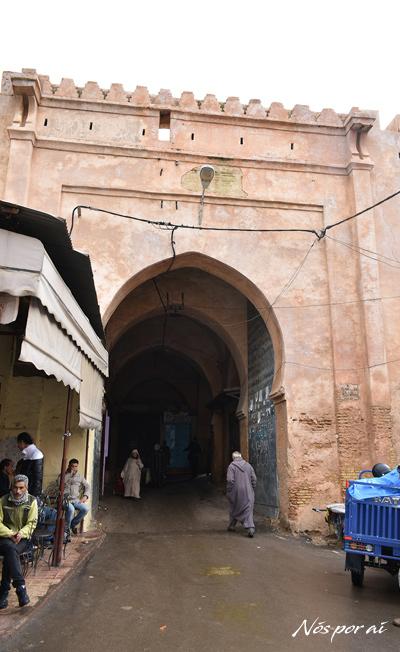 Portas da medina de Meknès