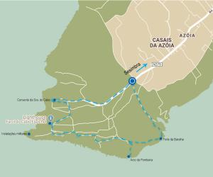 Mapa Chã dos Navegantes