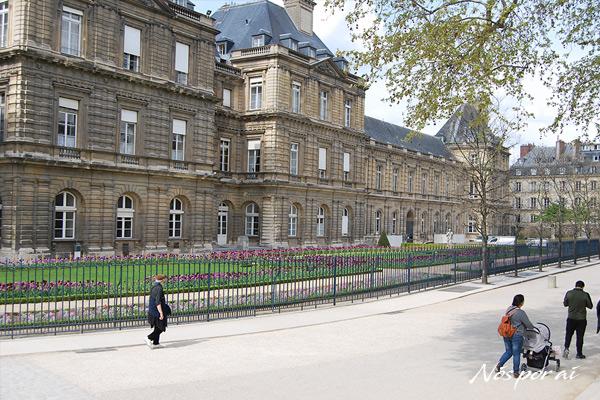 Palácio dos jardins do Luxemburgo