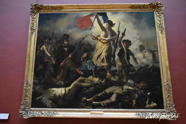 """""""Liberdade guiando o povo"""", de Eugéne Delacroix"""