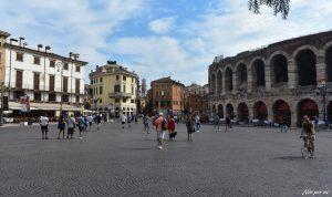 Percorrer Verona, a encantadora cidade de Romeu e Julieta