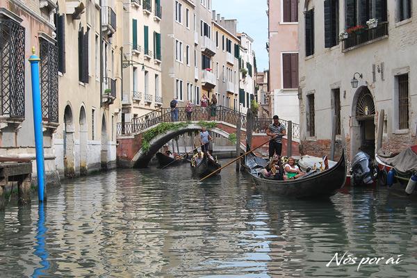 Gondola em Veneza