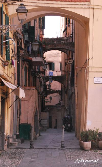 Zona histórica de Sanremo
