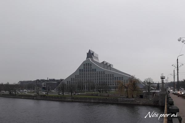 Biblioteca Nacional da Letónia