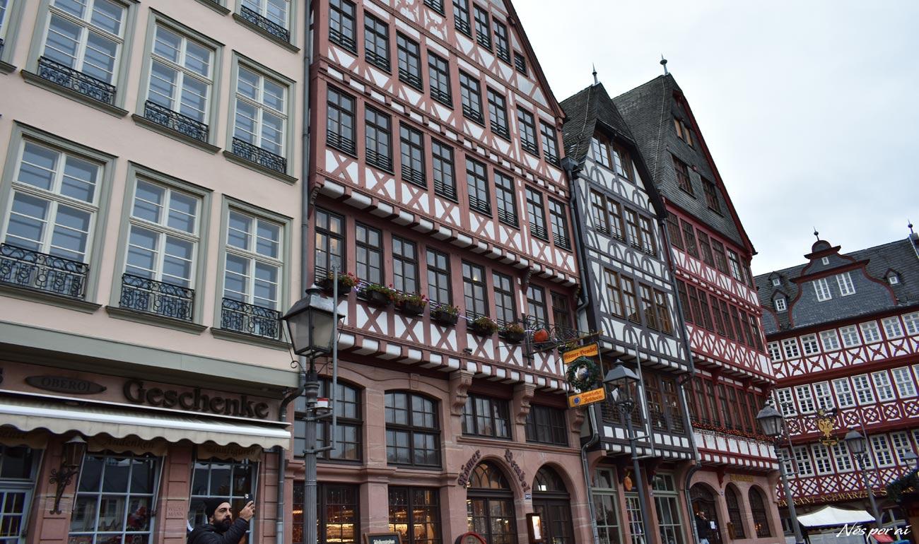 Uma breve escala por Frankfurt