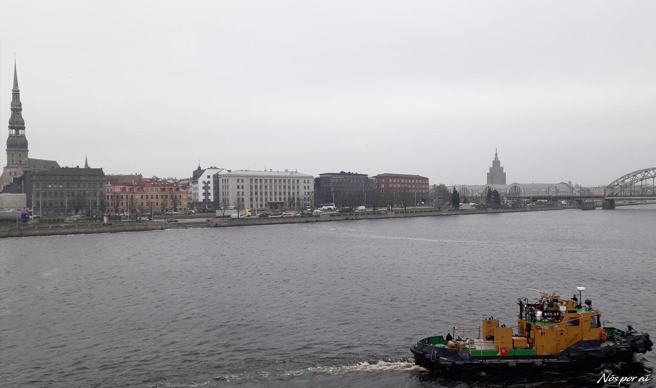 Em Riga, o frio aquece o coração
